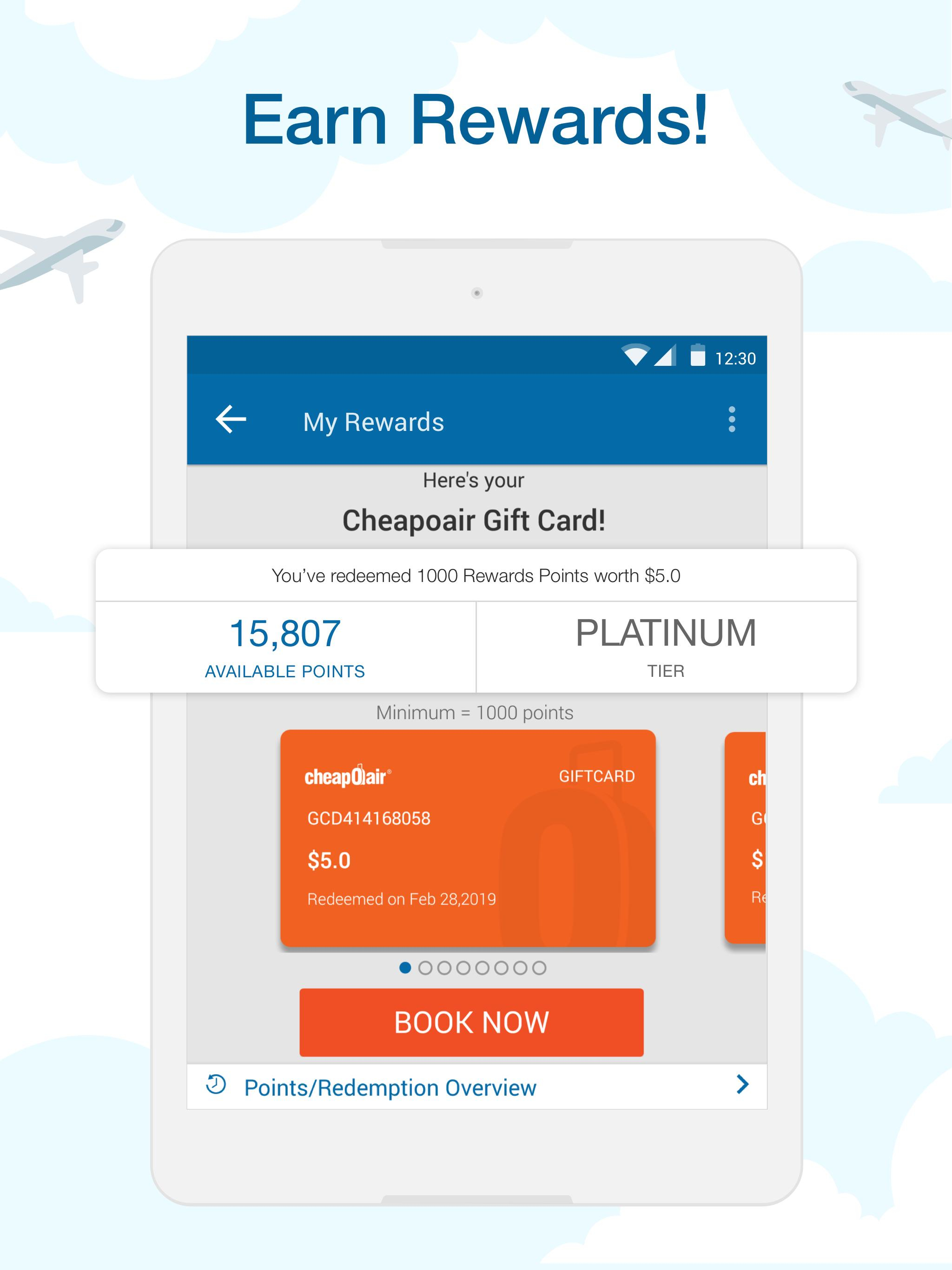 CheapOair Cheap Flights, Cheap Hotels Booking App for Android ...