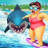 サメの攻撃 アイコン