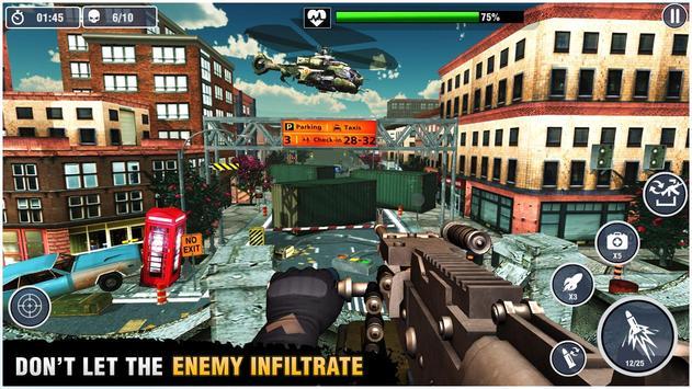 Kanonier Schlachtfeld: beste Schießspiele Screenshot 6