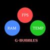 FPS Meter & Crosshair Free - Gamer Bubbles 图标
