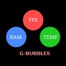 FPS Meter & Crosshair Free - Gamer Bubbles APK