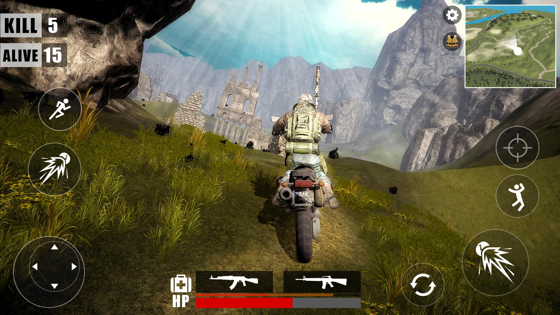 Survival Battleground Free Fire Battle Royale For Android