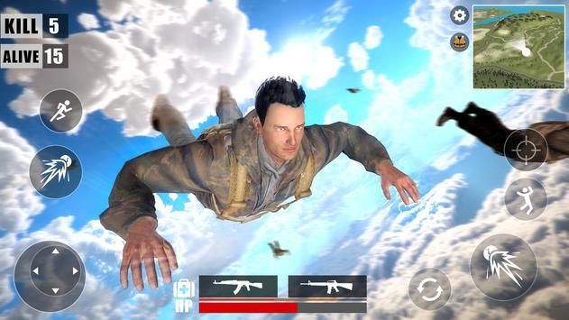 Free Survival Battleground  Fire : Battle Royale screenshot 1