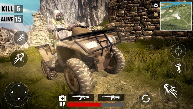 Free Survival Battleground  Fire : Battle Royale screenshot 5