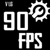 Fps tool : unlock 90fps أيقونة