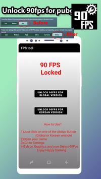 Fps tool : unlock 90fps تصوير الشاشة 5