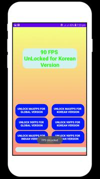 Fps tool : unlock 90fps تصوير الشاشة 16
