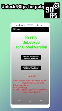 Fps tool : unlock 90fps تصوير الشاشة 4