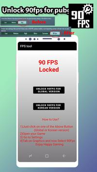 Fps tool : unlock 90fps تصوير الشاشة 11