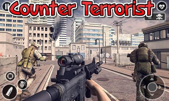 Counter Terrorist fps Shooting Game poster