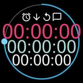 秒錶 計時器 圖標