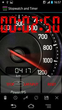 Stopwatch en timer screenshot 1