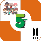 BTS KPOP Piano Game Touch Tiles 2019 icon