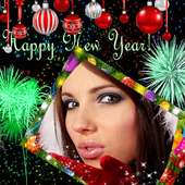 2019 Happy New Year Photo Frames & Picture Effects icon