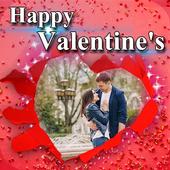 Valentine Day Photo Frame icon