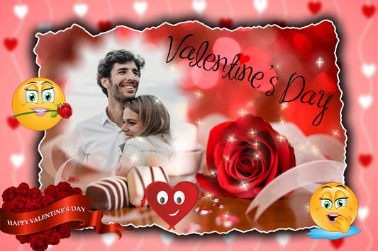 Valentine Day Photo Frame screenshot 3