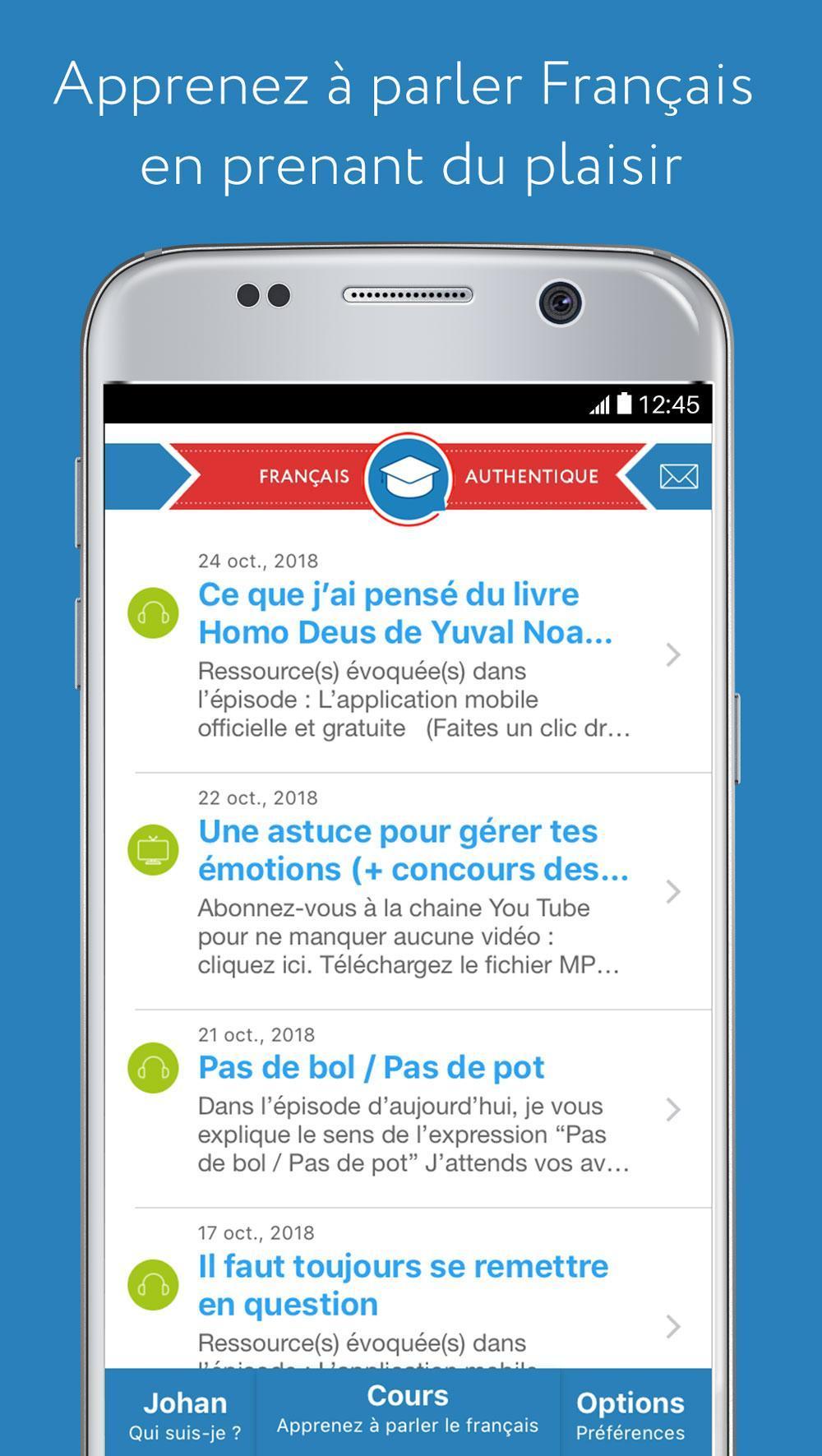 Francais Authentique For Android Apk Download