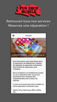 Fun shop mobile screenshot 1