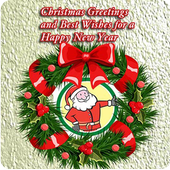 Merry Christmas Wishes Cards icon