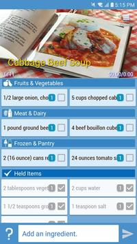 Smart Shopping - Shopping List & Recipe Manager screenshot 5