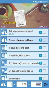 Smart Shopping - Shopping List & Recipe Manager screenshot 7