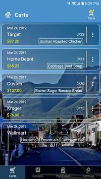 Smart Shopping - Shopping List & Recipe Manager poster