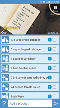 Smart Shopping - Shopping List & Recipe Manager screenshot 1