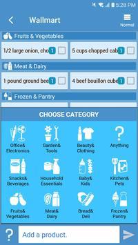 Smart Shopping - Shopping List & Recipe Manager screenshot 2