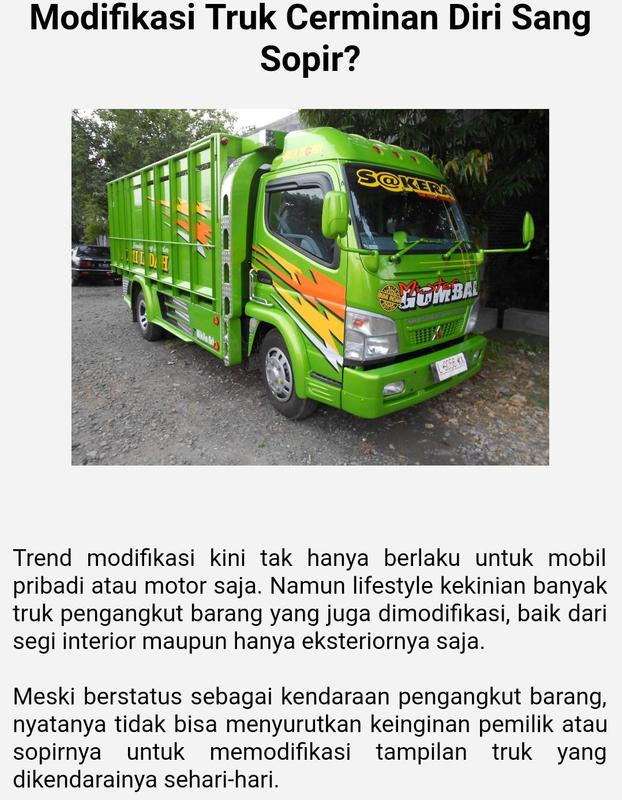 Canter Mania Truck Modifikasi for Android APK Download