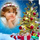 Christmas Tree Photo Frame icon