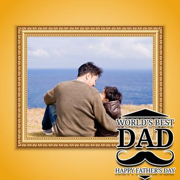 Fathers Day Photo Frames poster