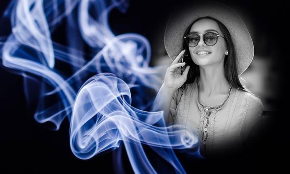 Smoke Effect Photo Frames screenshot 3