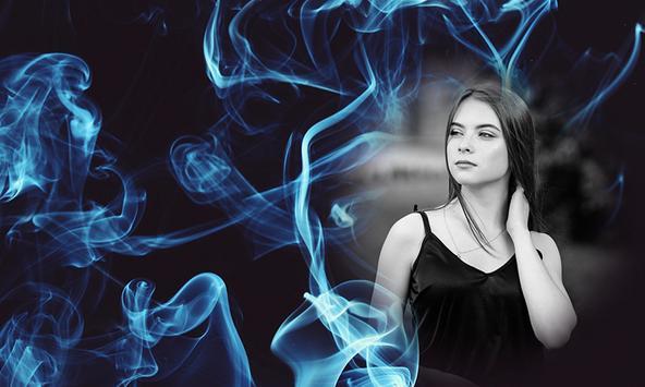 Smoke Effect Photo Frames poster