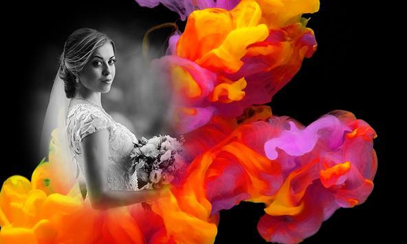 Smoke Effect Photo Frames screenshot 2