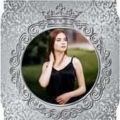 Silver Photo Frames Editor icon