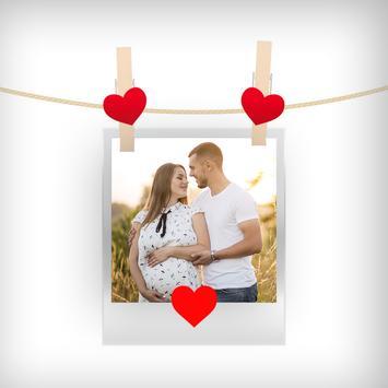 Romantic Photo Frames screenshot 1