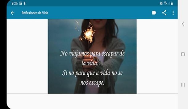 Frases de Vida, Reflexiones screenshot 4
