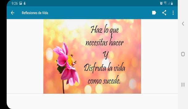 Frases de Vida, Reflexiones screenshot 5
