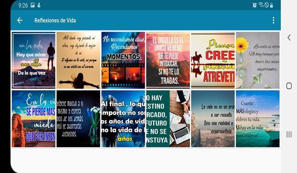 Frases de Vida, Reflexiones screenshot 6
