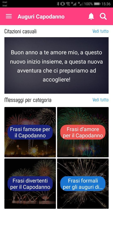 Auguri Capodanno 2020 For Android Apk Download