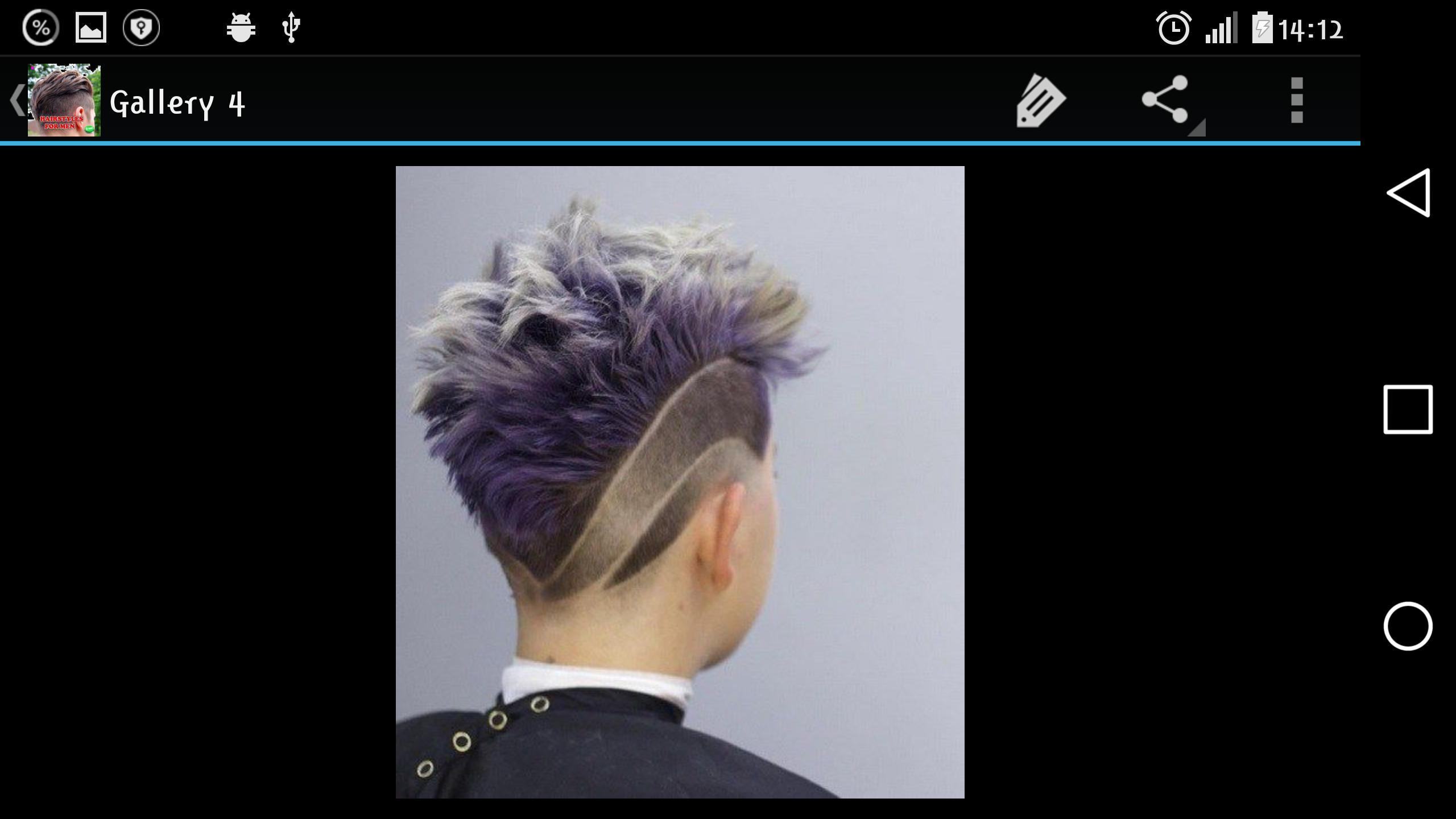 Coupe De Cheveux Homme Pour Android Telechargez L Apk