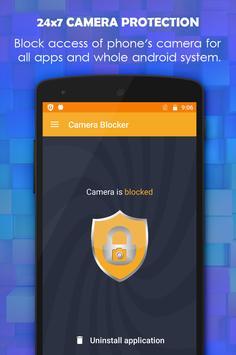 Camera Blocker screenshot 1