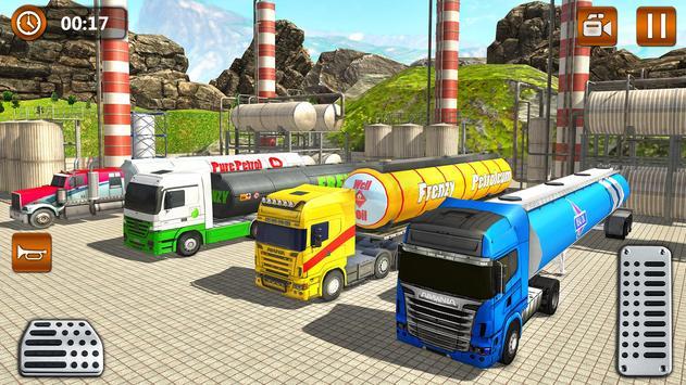 Offroad Oil Tanker Truck Transport Driver screenshot 10