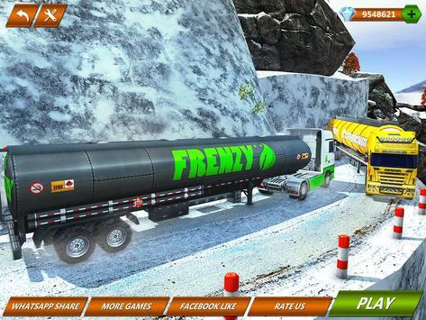 Offroad Oil Tanker Truck Transport Driver screenshot 11
