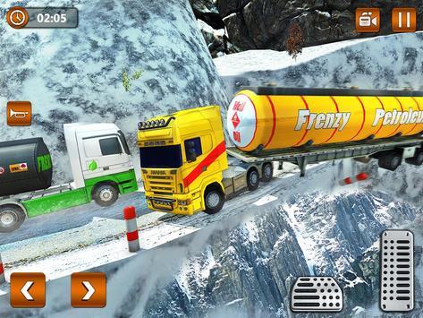 Offroad Oil Tanker Truck Transport Driver screenshot 13