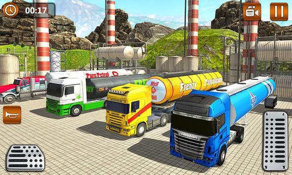 Offroad Oil Tanker Truck Transport Driver screenshot 4