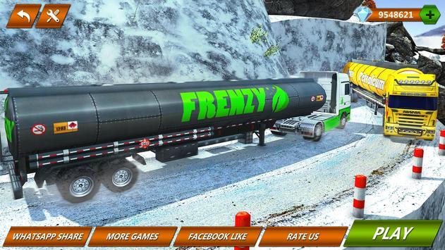 Offroad Oil Tanker Truck Transport Driver screenshot 6