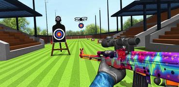 Target Shooting Legend: Gun Range Shoot Game