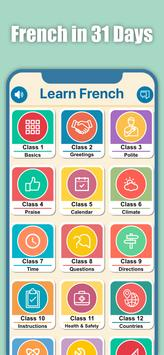 Learn French for Beginners poster
