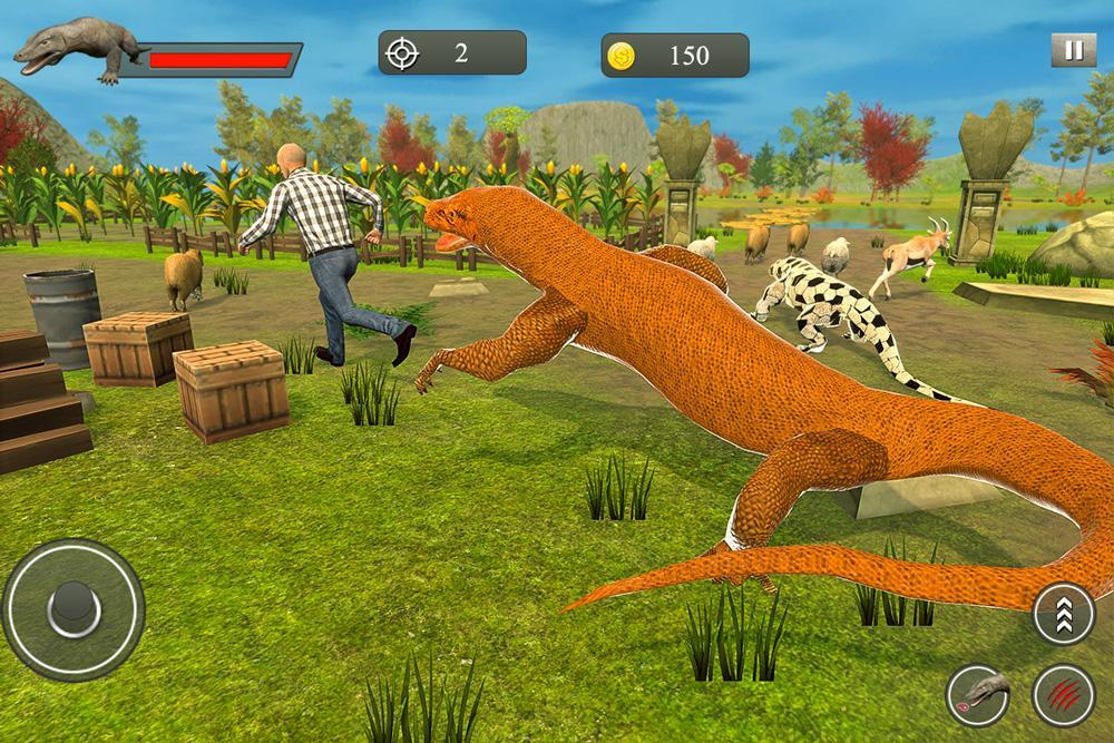 Komodo Dragon Family Sim for Android - APK Download